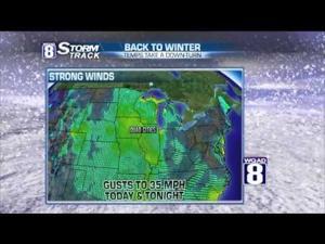 Storm Track 8  Monday forecast