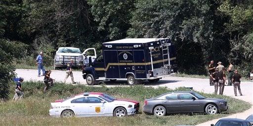 Deputy Shot-Iowa-Search