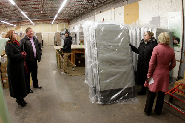 Slumberland donates beds for people in need
