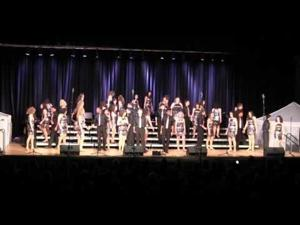 Lights go out -- Davenport North's show goes on
