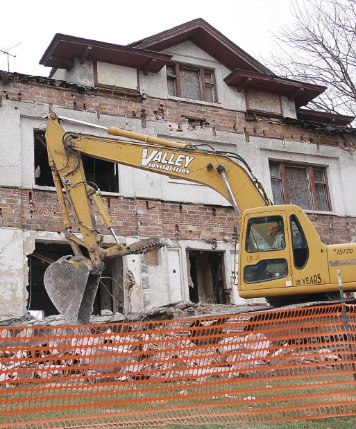 French Decker House demolition