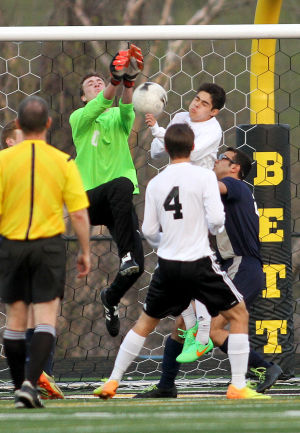 Photos: Pleasant Valley at Bettendorf Boys Soccer