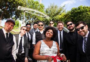 Ten-member Houston band The Suffers find strength in numbers