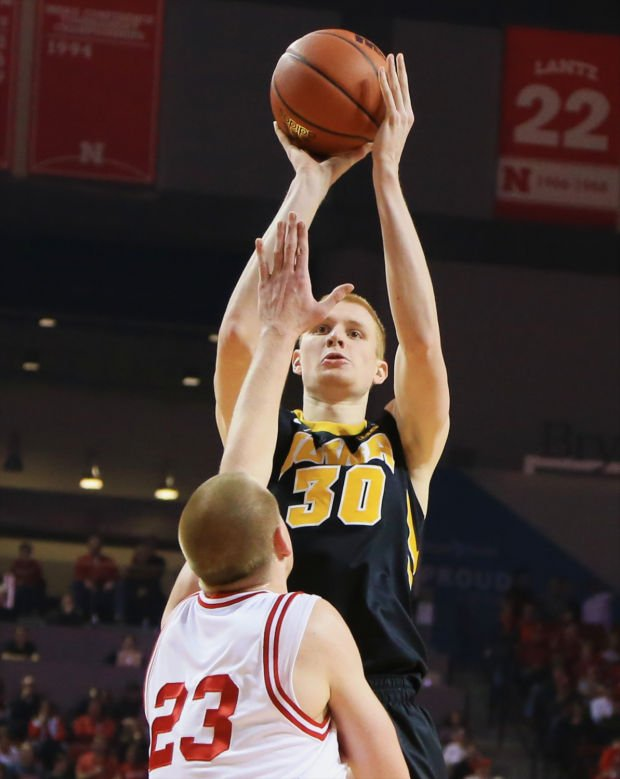 White's threes making Iowa even more dangerous