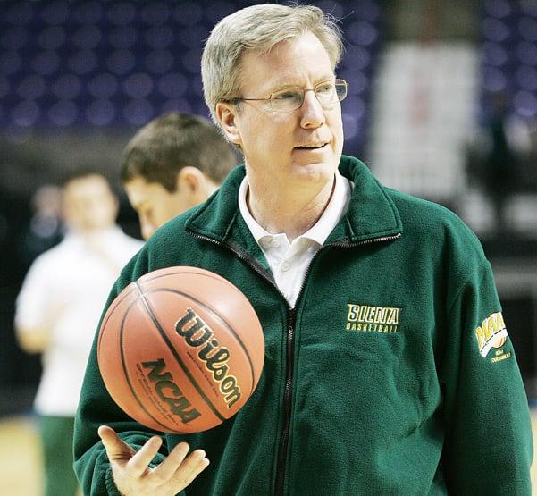 Hawkeyes hire Siena coach McCaffery   Iowa Hawkeyes Basketball   qctimes.com