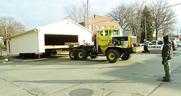 Dec. 11, 2012 -- Garage donation