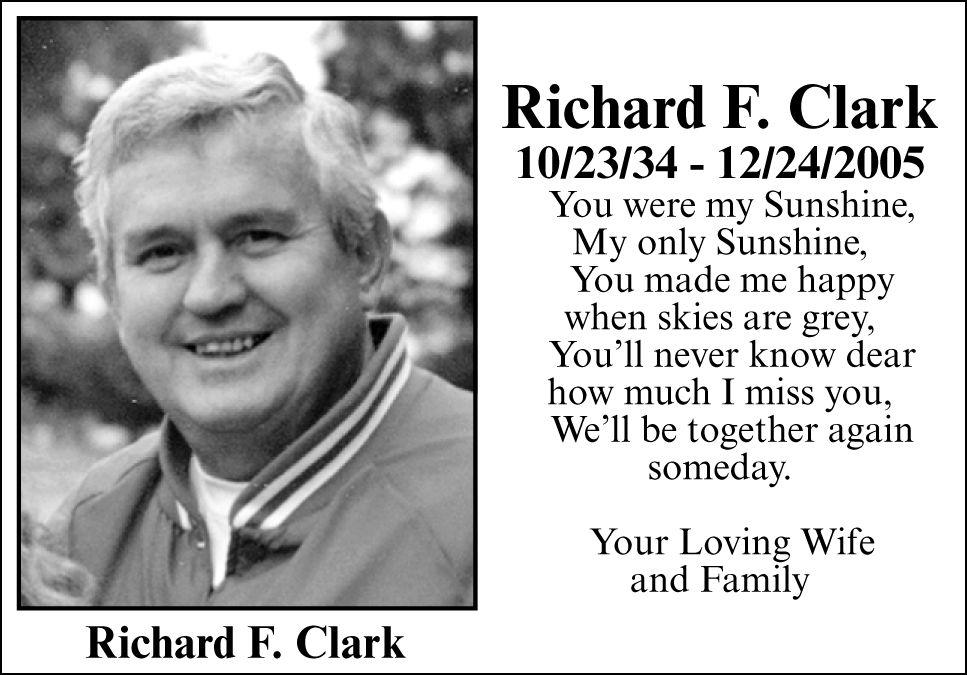 Richard F. Clark