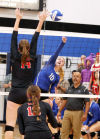 West Branch volleyball takes down West Liberty in sweep