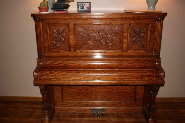 Majestic Piano Was Abandoned By Former Owners Doug Smith