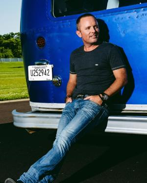 Contemporary Christian singer Chris Tomlin thrives on music for a church to sing