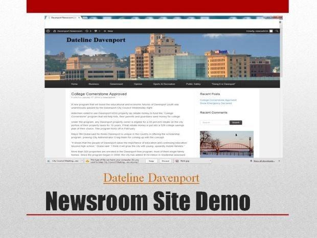 Davenport news website