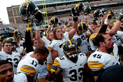 Iowa-Illinois telecast moved to ESPN2