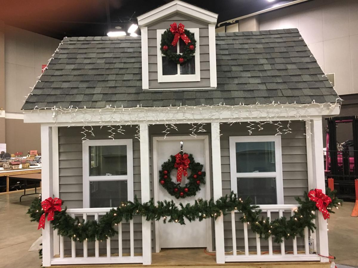 decorated playhouse