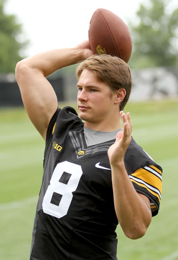 Freshman QB ready, if needed for Iowa