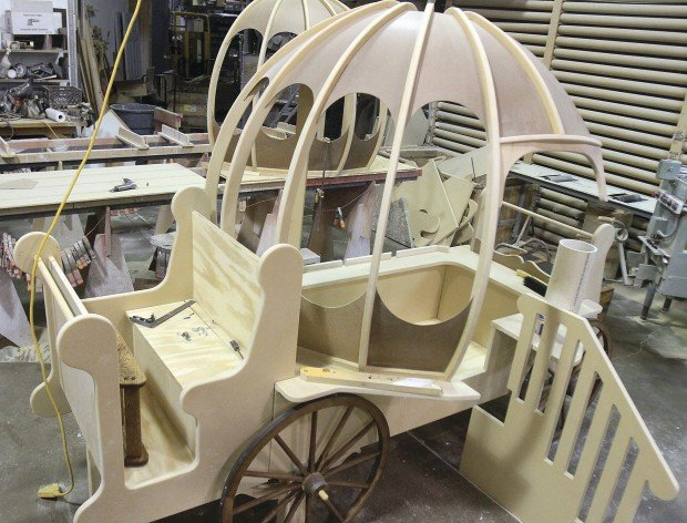 Cinderella bed : Gallery