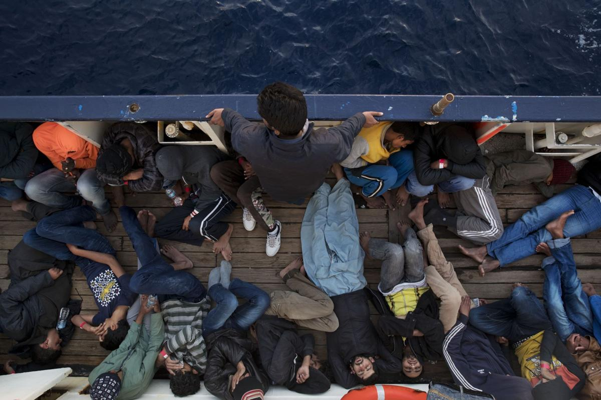 Rescues on the Mediterranean
