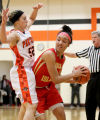 Rocky girls rout UT for share of 5th straight Big Six title