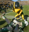 Memorable moments from the Iowa-Michigan State series
