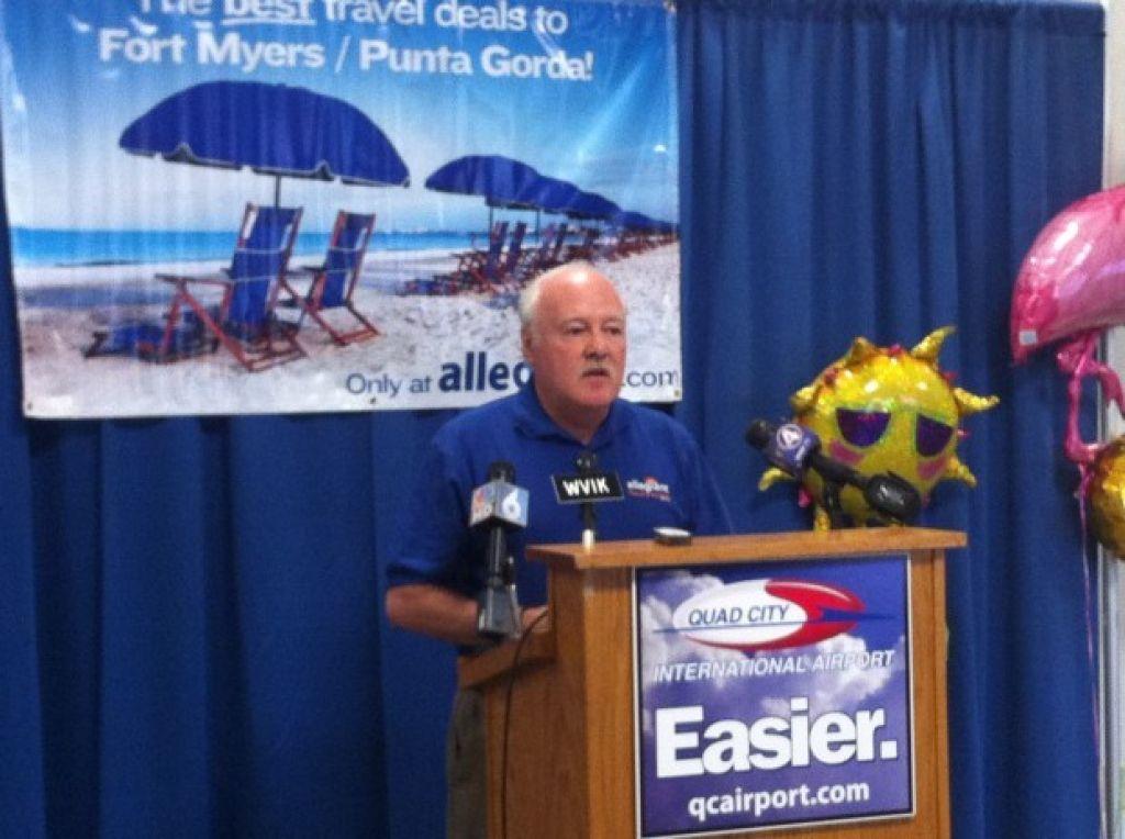 Allegiant adds third Florida destination for Q-C airport ...