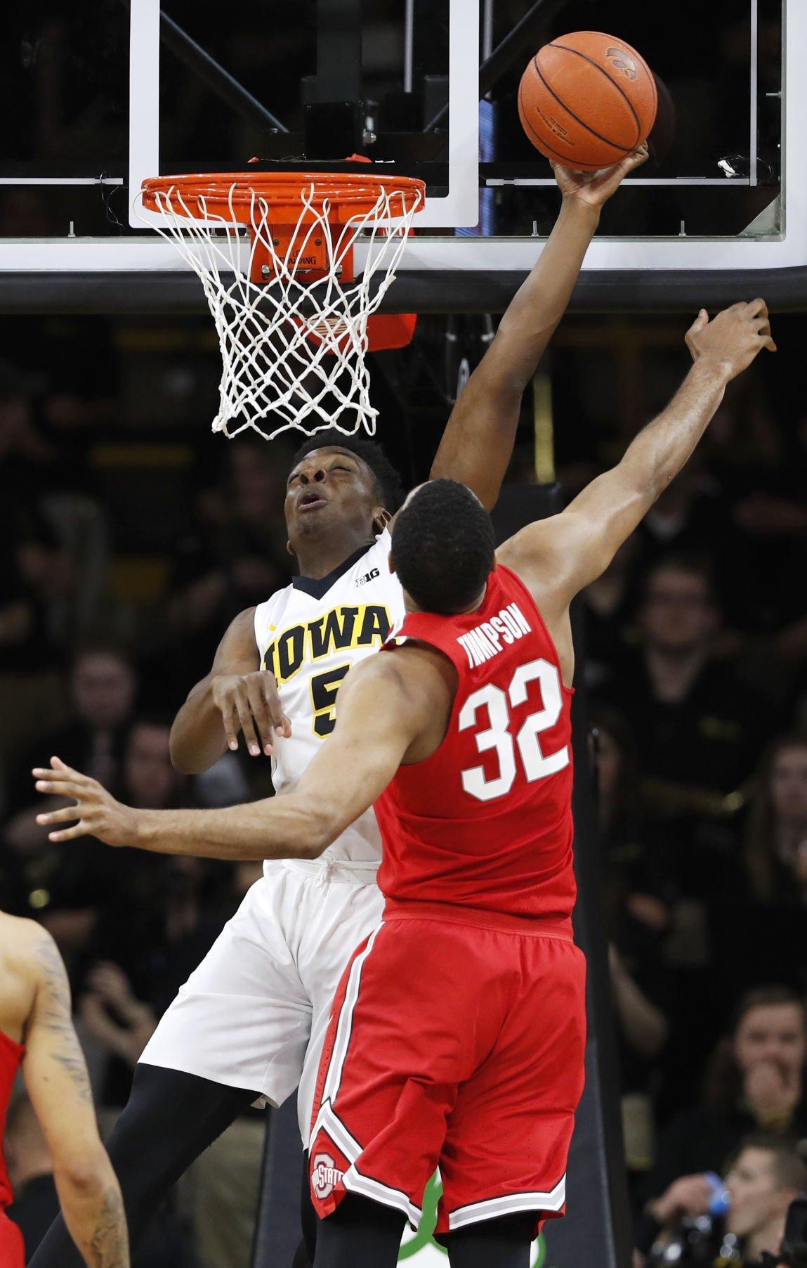 Ohio St Iowa Basketball