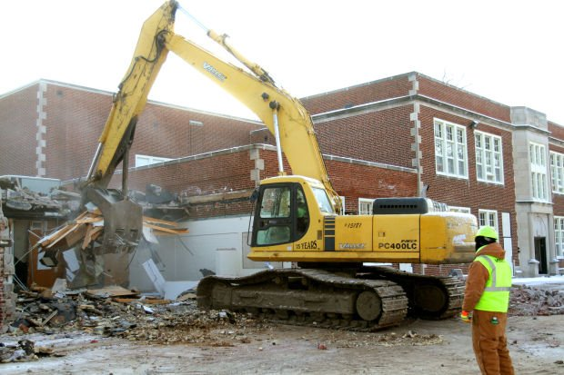 Audubon demolition