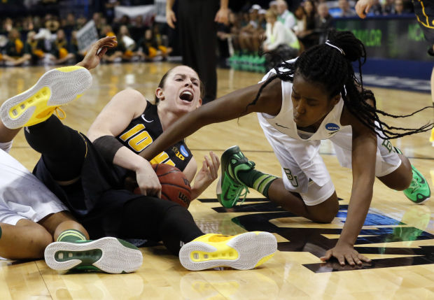 Agbuke powers Baylor past Iowa and into Elite Eight