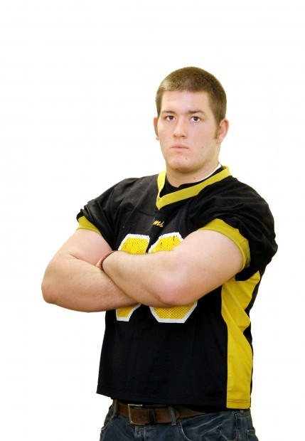 Riverdale High School lineman Mitch Keppy