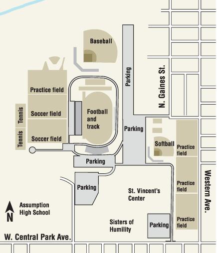 St. Ambrose sports complex plans