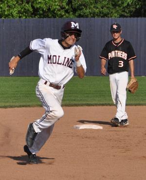 Photos: Moline vs. United Township regional baseball