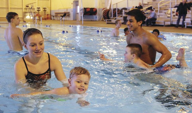 students help special needs kids learn to swim local news
