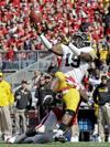 Iowa forces 4 turnovers, tops No. 19 Wisconsin 10-6