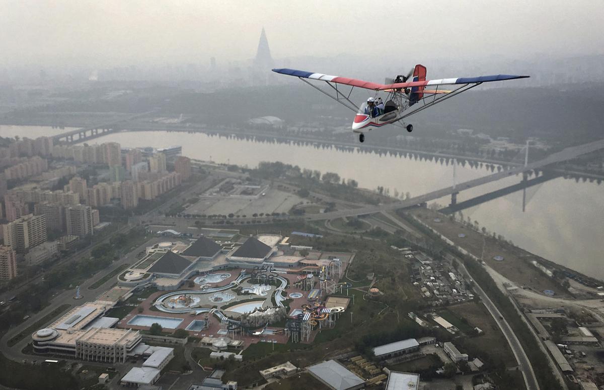 APTOPIX North Korea Pyongyang From Above