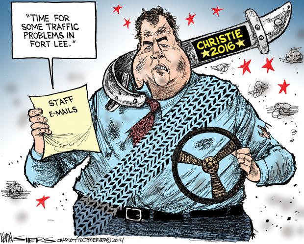 Chris Christie Editorial Cartoons Editorial
