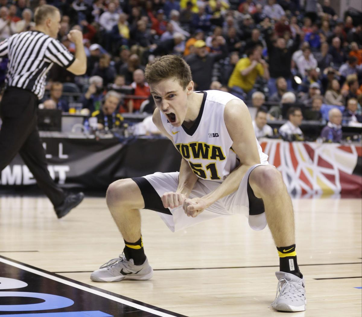 brooklyn notes hawkeyes baer fulfills lifelong dream iowa nicholas baer