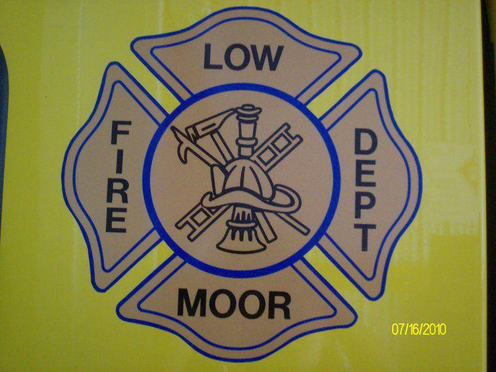 Low Moor Fire Department logo