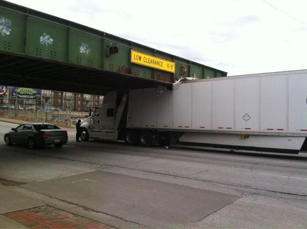 Truck eaten on Brady