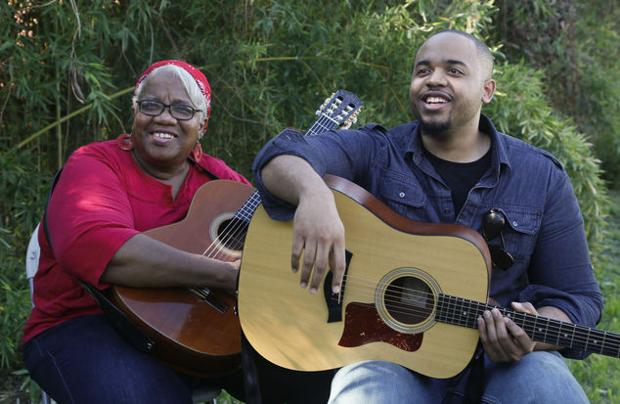 Mother-son blues duo gain attention