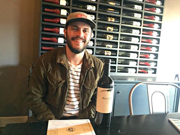 At the table with: Q-C's wine guy
