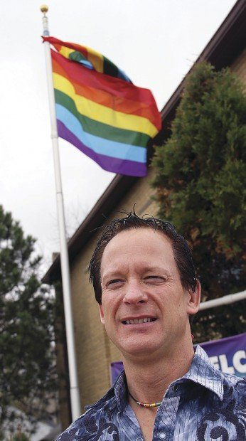 Christian pride flag