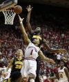 Hawkeyes hammer Hoosier to further solidify NCAA berth