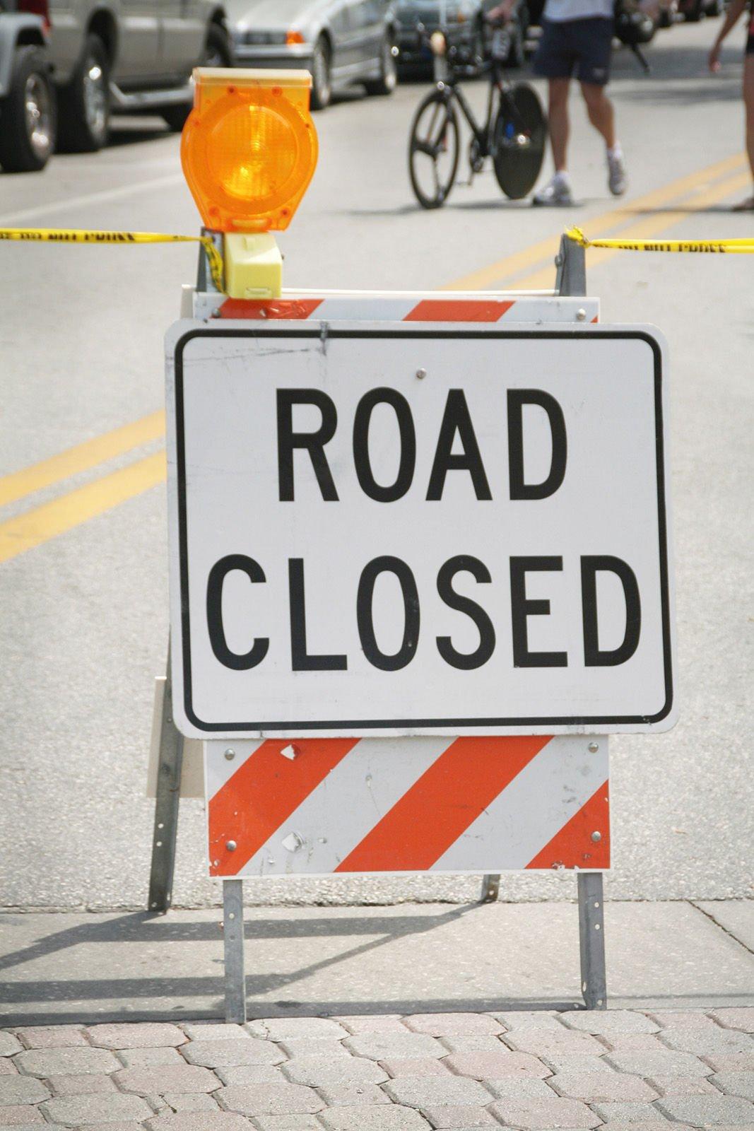road closed generic art