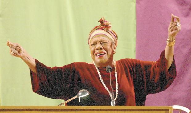 Maya Angelou... 04/28/03