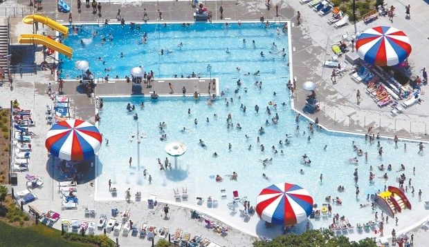 Pool Beach Attendance Spikes With Temperature Local News