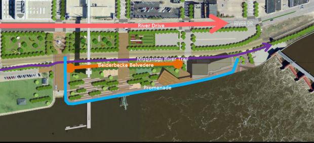 Riverfront belvedere draws fire