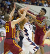 No. 4 Cyclones run away from Illinois in 2nd half
