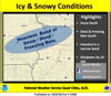Wintry mix creates treacherous driving conditions this a.m.