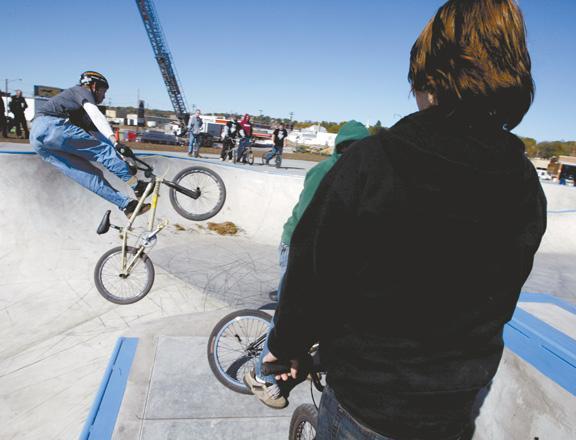 SkatePark gets rolling