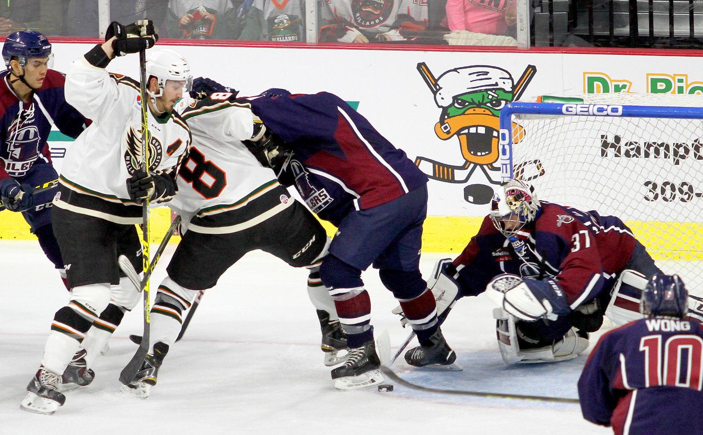 ECHL: League Notes - Mallards Hosting 'gigantic' Game Vs. Tulsa Friday Night