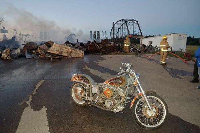 Full throttle gutted by fire community