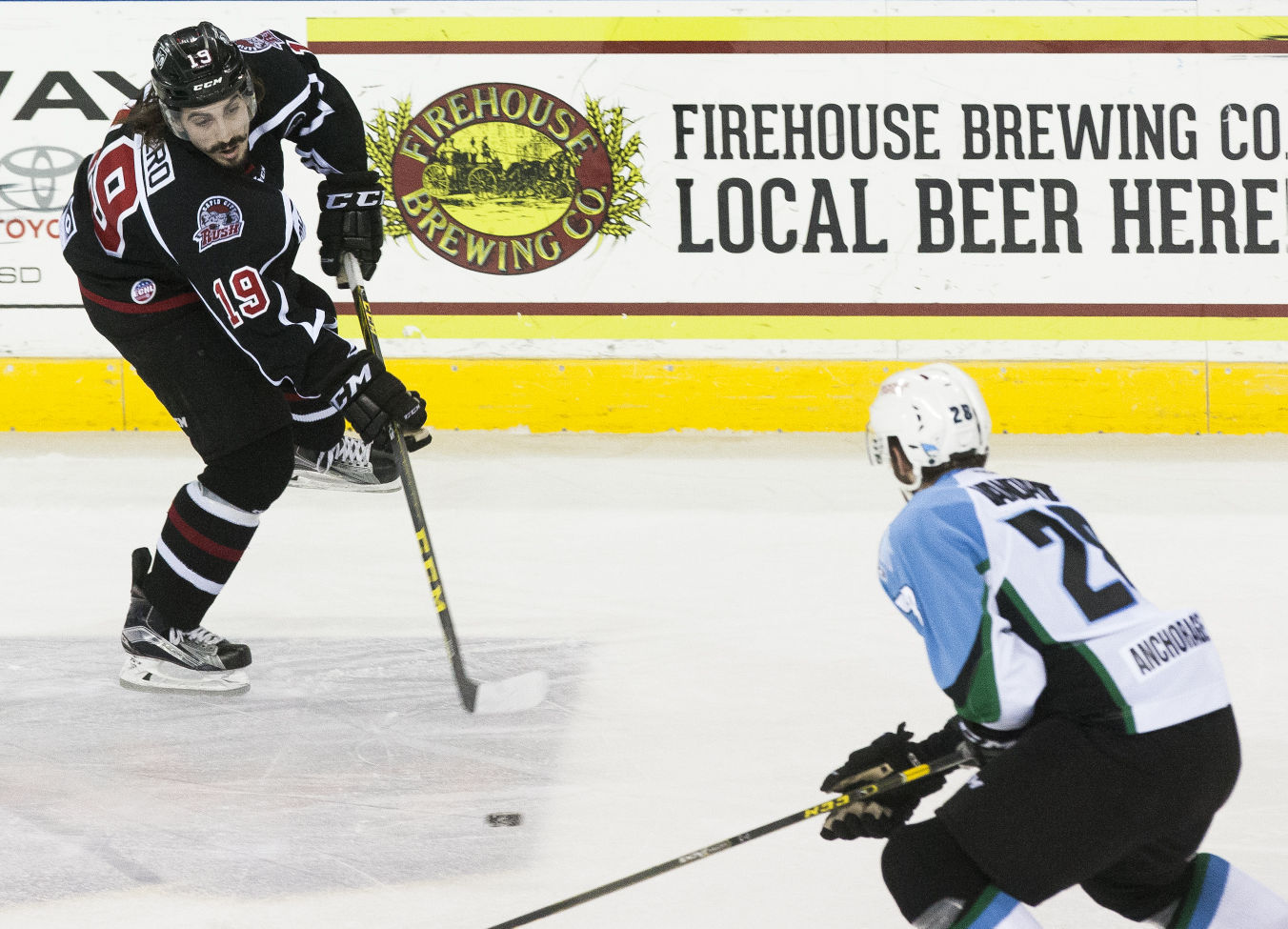 ECHL: Aces Get Past Rush In Shootout